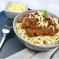 Spaghettis Bolognaise fait maison
