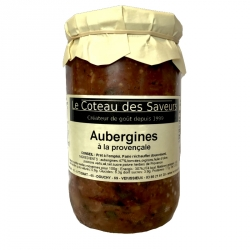 Aubergines à la provençale - 650 g