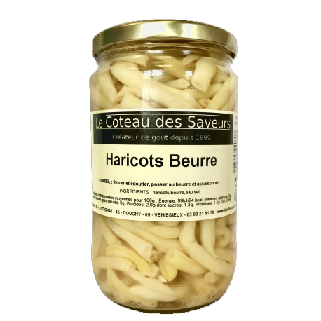 Haricots beurre