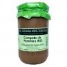 Compote de pommes Bio artisanale (660g)