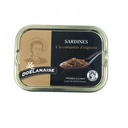 Sardines à la compotée d'oignons