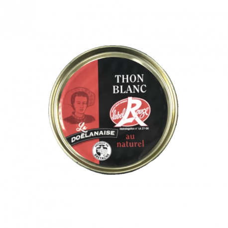 Thon blanc Label Rouge au naturel