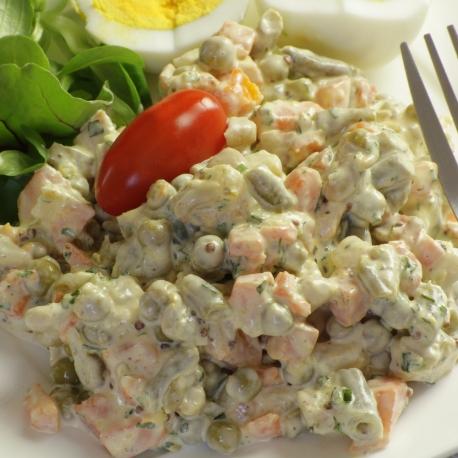 Salade de macédoine mayonnaise