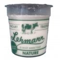 Yaourts nature Lehmann x6