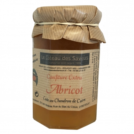 Confiture extra d'abricots (370 g)