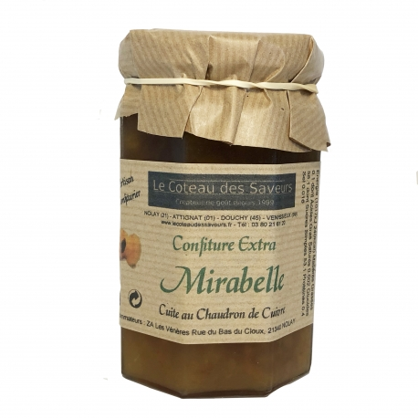 Confiture extra de mirabelles (370 g)