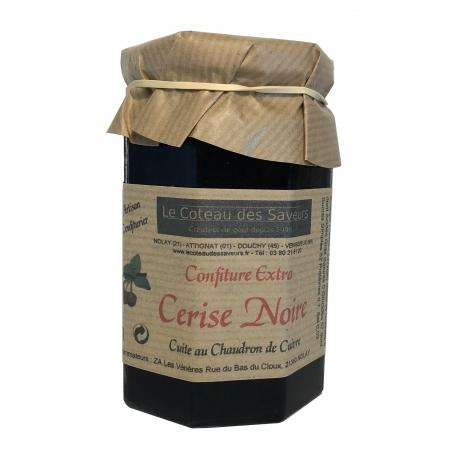 Confiture extra de cerises noires (370 g)