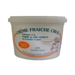 Crème fraîche épaisse crue 40 % MG - 25 cl