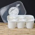Fromage blanc de campagne en mini faisselle, 6 x 120 g