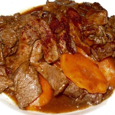 Émincé de bœuf (rumsteck) (500g)