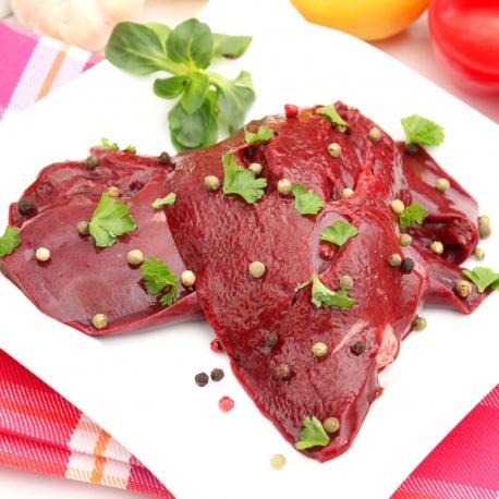Foie de porc tranché (500g)