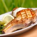Côtes de porc marinées - 1 kg