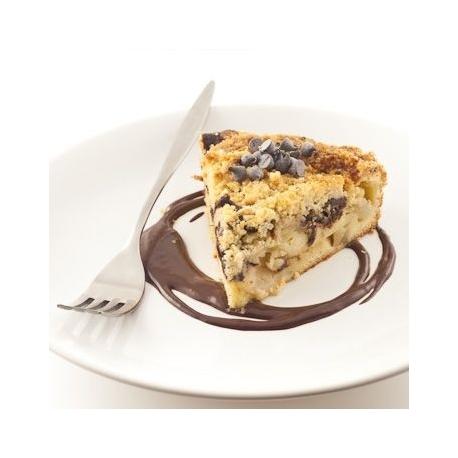 Tarte crumble poires/chocolat